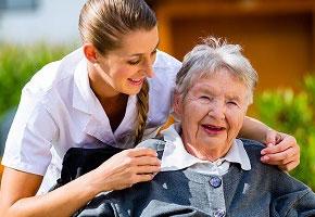 Интернат для престарелых в городе