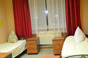 Двухместная палата для пожилых в пансионате