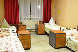 Четырехместная палата для пожилых в пансионате