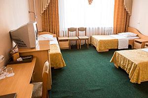 Пятиместная палата для пожилых в пансионате