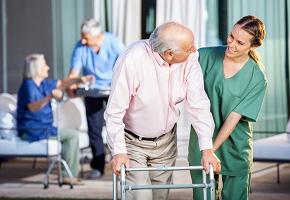 Пансионат для пожилых с деменцией и слабоумных