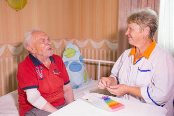 Отдых и развлечения для пожилых в пансионате фото